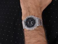 G-Shock GA-2100SKE-7AER zegarek męski G-Shock bezbarwny