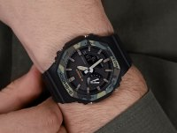 G-SHOCK GA-2100SU-1AER G-Shock sportowy zegarek czarny
