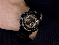 G-SHOCK GA-710GB-1AER G-SHOCK Style NO COMPLY BLACK AND GOLD zegarek męski sportowy mineralne