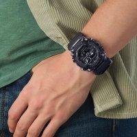 G-Shock GA-900SKE-8AER zegarek czarny sportowy G-SHOCK Original pasek