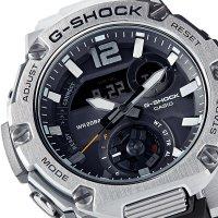 G-Shock GST-B300E-5AER G-SHOCK G-STEEL sportowy zegarek srebrny
