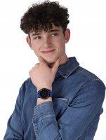 Garett 5903246289343 zegarek czarny sportowy Męskie pasek