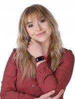 Garett 5906874848760 zegarek czarny sportowy Smartbandy - Opaski sportowe pasek