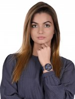 Guess W0571L1 zegarek różowe złoto fashion/modowy Pasek pasek