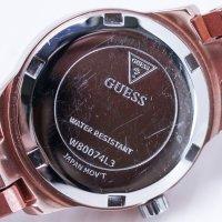 Guess W80074L3-POWYSTAWOWY damski zegarek Bransoleta bransoleta