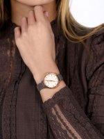 Joop 2022886 Pasek klasyczny zegarek różowe złoto