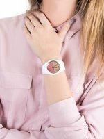 klasyczny Zegarek biały ICE Watch ICE-Lo ICE.016900 ICE lo Mango Rozm. M - duże 5