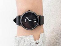 klasyczny Zegarek czarny Cluse La Roche CL40001 Full Black Marble - duże 6
