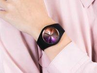 klasyczny Zegarek czarny ICE Watch Ice-Duo ICE.016982 ICE duo chic Black purple Rozm. M - duże 6