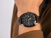 klasyczny Zegarek czarny Lorus Klasyczne RH955KX9 - duże 6