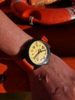 zegarek Traser TS-107423 kwarcowy męski P67 Officer Pro P67 Officer Pro GunMetal Orange