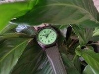klasyczny Zegarek czarny Traser P67 Officer Pro TS-107424 P67 Officer Pro GunMetal Lime - duże 10