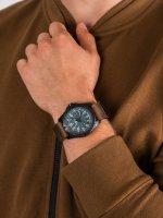 klasyczny Zegarek czarny Traser P96 Outdoor Pioneer TS-109040 P96 OdP Evolution Petrol - duże 5