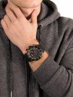 klasyczny Zegarek czarny Vostok Europe Lunokhod 6S30-6203211 Lunokhod-2 Chrono - duże 5