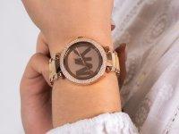 klasyczny Zegarek różowe złoto  Parker MK6530 PARKER - duże 6