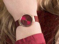 klasyczny Zegarek różowe złoto Bering Classic 14531-363 - duże 6