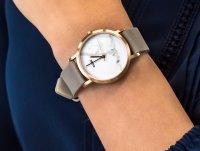 klasyczny Zegarek różowe złoto Cluse La Roche CL40103 Petite Rose Gold White Marble/Grey - duże 6