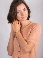 klasyczny Zegarek różowe złoto DKNY Bransoleta NY2826 - duże 4