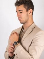 klasyczny Zegarek różowe złoto Epos Passion 3434.183.24.34.25 Open Heart Limited Edition - duże 4