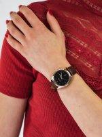 klasyczny Zegarek różowe złoto Meller Maya W9RN-1CHOCO Maya Roos Choco - duże 5