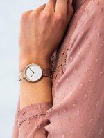 klasyczny Zegarek różowe złoto Obaku Denmark Bransoleta V219LXVHMV - duże 5