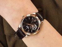 Orient RA-AG0023Y10B zegarek różowe złoto klasyczny Contemporary pasek