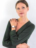klasyczny Zegarek różowe złoto Rosefield West Village WGSBE-X190 West Village - duże 4