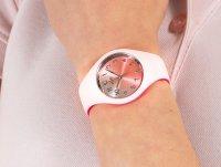 klasyczny Zegarek różowy ICE Watch Ice-Duo ICE.016979 ICE duo chic Pink silver Rozm. S - duże 6