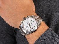 Adriatica A8202.5113CH Bransoleta Chronograph zegarek męski klasyczny szafirowe