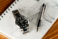 Ball NM2128C-S1C-BK Engineer M Marvelight Automatic Chronometer Engineer M klasyczny zegarek srebrny