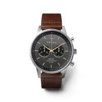 klasyczny Zegarek srebrny  Nevil NEST114-CL110412 - duże 6