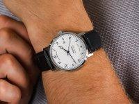 klasyczny Zegarek srebrny  Originale 3387.152.20.48.15 - duże 6