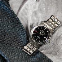 Ball NM3280D-S1CJ-BK Trainmaster Manufacture 80 Hours Automatic Chronometer Trainmaster klasyczny zegarek srebrny