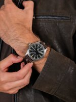 klasyczny Zegarek srebrny Ball Engineer Master II NM1080C-LF13-BK Aviator - duże 5