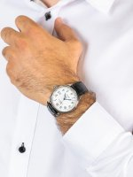 klasyczny Zegarek srebrny Ball Trainmaster NM3288D-LLJ-WH STANDARD TIME 135 ANNIVERSARY - duże 5