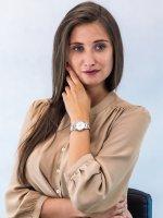 klasyczny Zegarek srebrny Caravelle Bransoleta 45P110 - duże 4