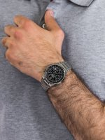 Edifice EF-500D-1AV EF-500D-1AVEF EDIFICE Momentum klasyczny zegarek srebrny