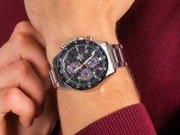 klasyczny Zegarek srebrny Casio EDIFICE Premium EFS-S540DB-1AUEF CARBON DIAL SAPPHIRE SOLAR - duże 6