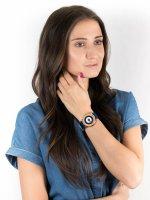 klasyczny Zegarek srebrny Charles BowTie Roundel Collection LULSA.N.B LUTON - duże 4