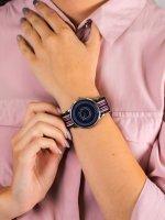 klasyczny Zegarek srebrny Charles BowTie Roundel Collection WELSA.N.B WESTBURY - duże 5