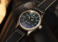 klasyczny Zegarek srebrny Davosa Pilot 162.501.55 AVIATOR JUNAK LIMITED EDITION - duże 13