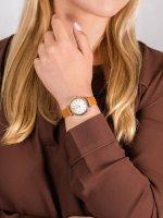 klasyczny Zegarek srebrny Fossil Carlie ES4835 CARLIE MINI - duże 5