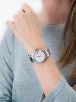 klasyczny Zegarek srebrny Fossil FB-01 ES4741 FB-01 - duże 5