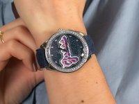 klasyczny Zegarek srebrny Guess Pasek W1276L1 - duże 6