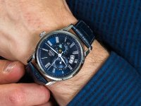 Orient FAK00005D0 Sun and Moon zegarek klasyczny Classic