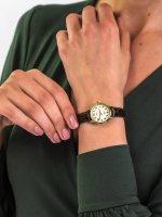 klasyczny Zegarek złoty Timex Easy Reader T20071 - duże 5