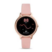 zegarek Fossil Smartwatch FTW6066 kwarcowy damski Fossil Q GEN 5E SMARTWATCH - BLUSH SILICONE