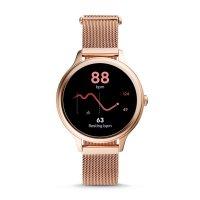 zegarek Fossil Smartwatch FTW6068 kwarcowy damski Fossil Q GEN 5E SMARTWATCH - ROSE GOLD