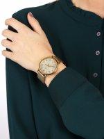 Timex T2N598 Essential Collection Originals Mesh Originals fashion/modowy zegarek złoty