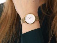 kwarcowy Zegarek damski  Slim ARK LILLE - GOLD V240LXGWMG - duże 6